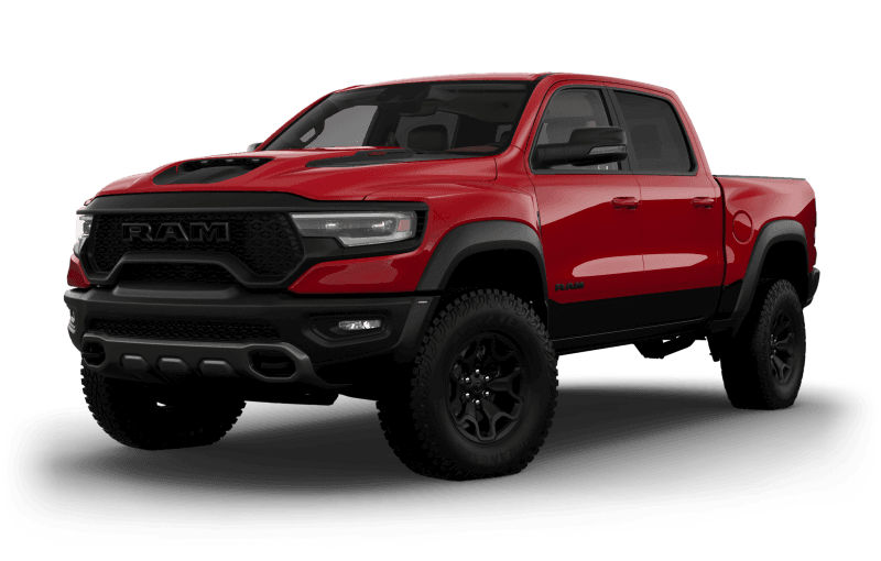 2021 Ram 1500 TRX - Flame Red