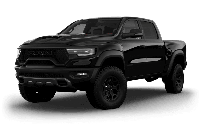 2021 Ram 1500 TRX - Diamond Black Crystal Pearl