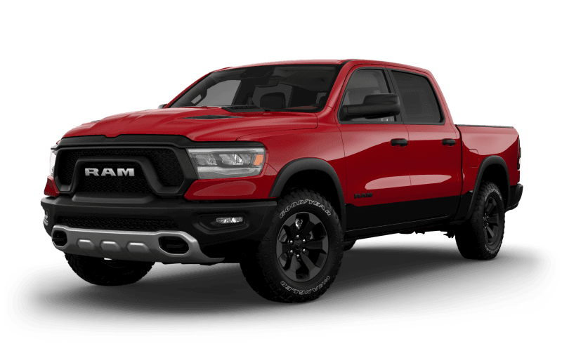 2021 Ram 1500 Rebel® - Flame Red