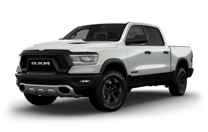 2021 Ram 1500 Rebel® - Bright White