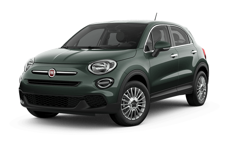 2021 FIAT 500X Pop - Vibrante green metallic