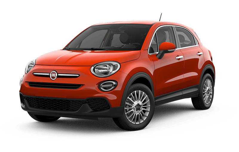 FIATMD 500X 2021 Pop - Arancio (orange)