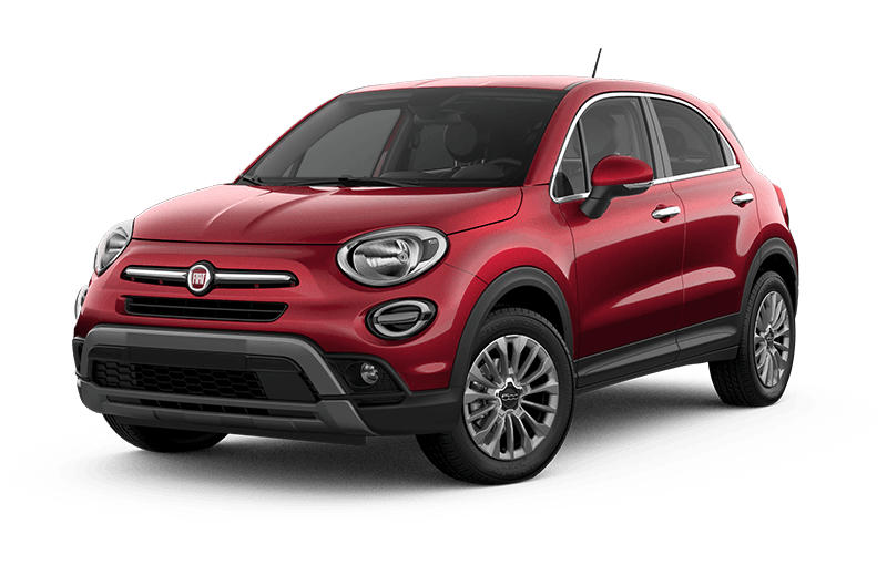 2021 FIAT 500X Trekking - Amore red metallic