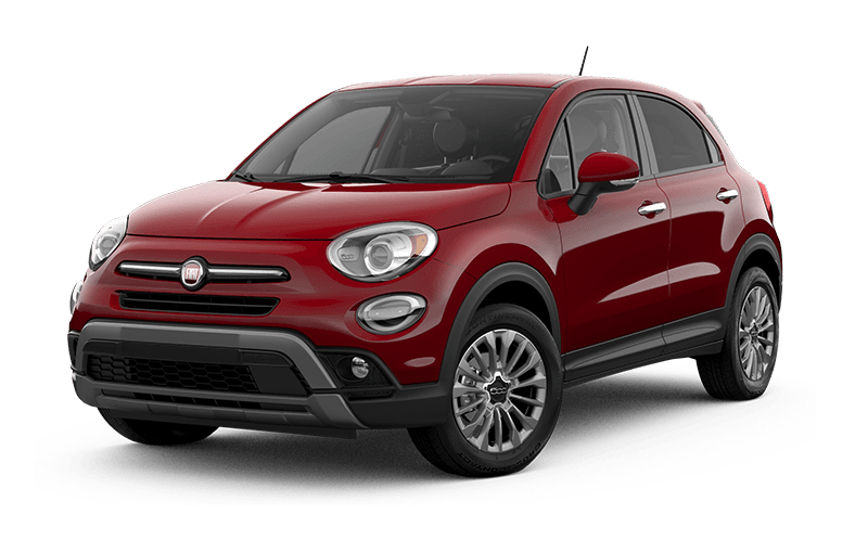 FIATMD 500X 2021 Trekking - Rouge passion