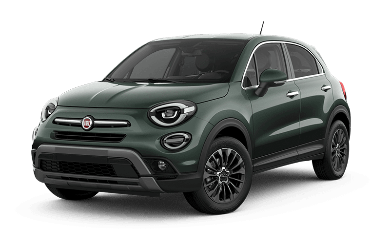 2021 FIAT 500X Trekking Plus - Vibrante green metallic
