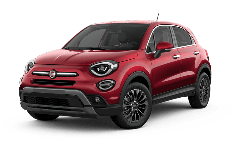 2021 FIAT 500X Trekking Plus - Amore red metallic
