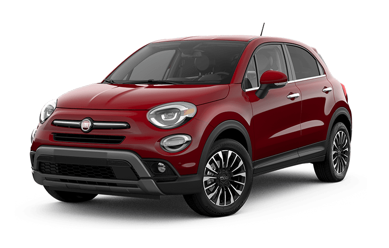 2021 FIAT 500X Trekking Plus - Passione Red