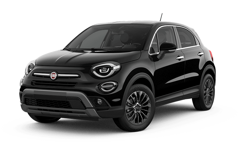 2021 FIAT 500X Trekking Plus - Nero Cinema (Black)
