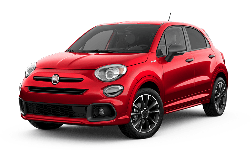 FIATMD 500X 2021 Sport - Rouge Rovente