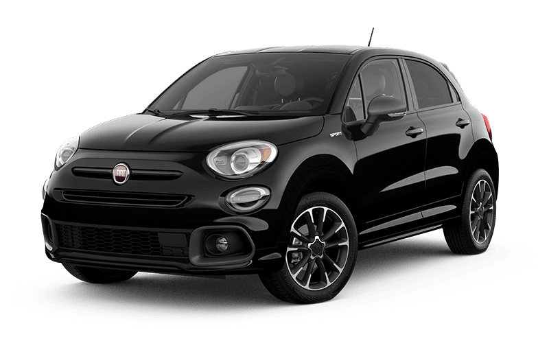 2021 FIAT 500X Sport - Nero Cinema (Black)