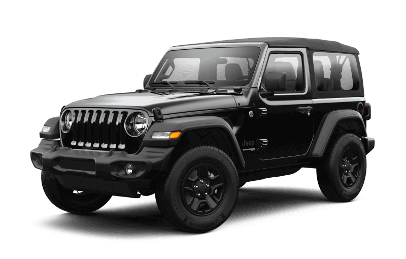 2021 Jeep® Wrangler Sport - Black