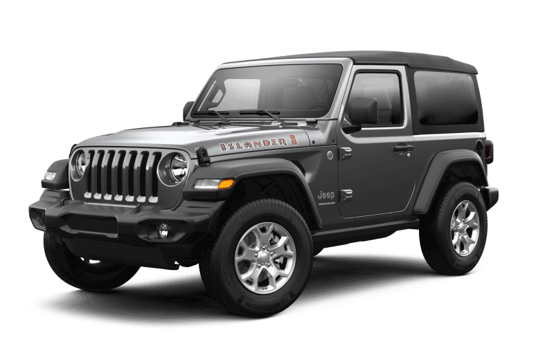2021 Jeep® Wrangler Islander - Granite Crystal