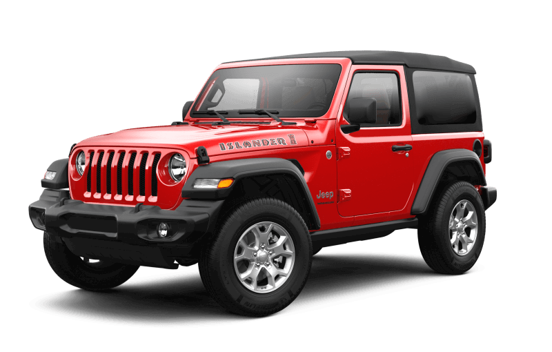 2021 Jeep® Wrangler Islander - Firecracker Red