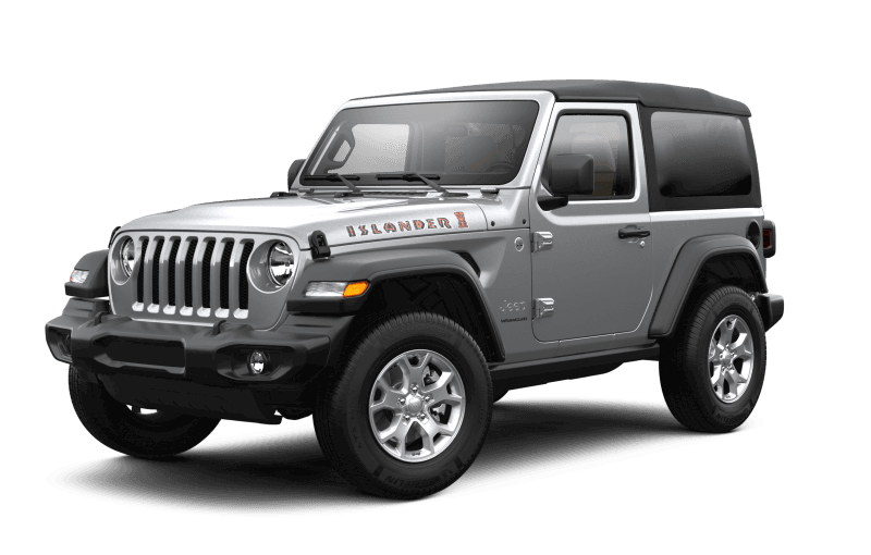 2021 Jeep® Wrangler Islander - Billet Metallic