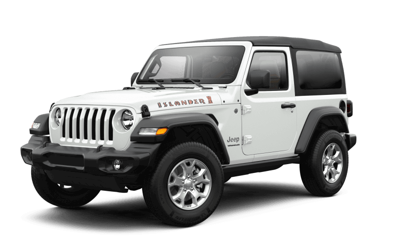 2021 Jeep® Wrangler Islander - Bright White