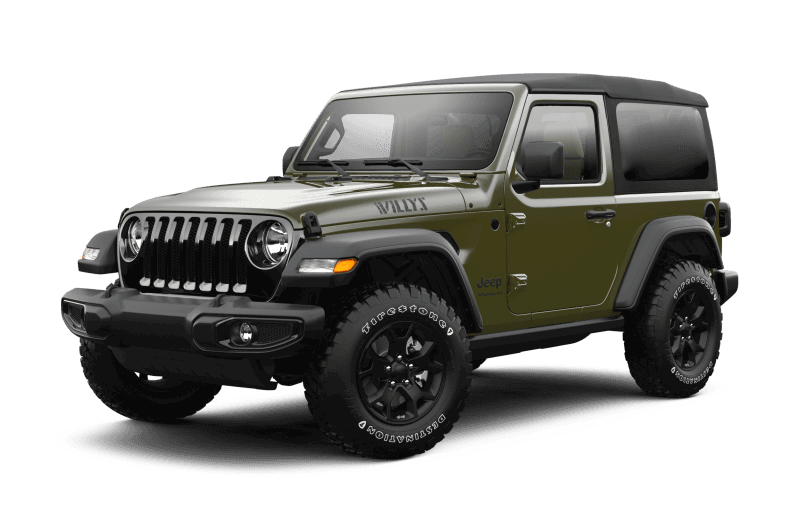 2021 Jeep® Wrangler Willys Sport - Sarge Green