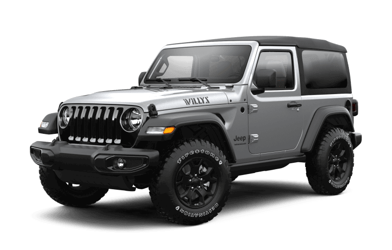 2021 Jeep® Wrangler Willys Sport - Billet Metallic