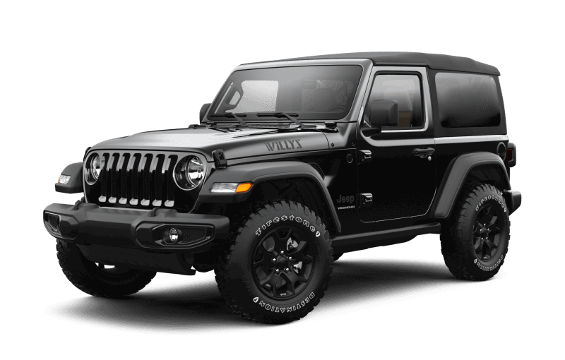 2021 Jeep® Wrangler Willys Sport - Black