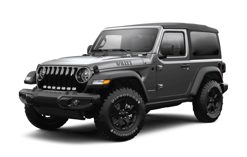 2021 Jeep® Wrangler Willys - Granite Crystal