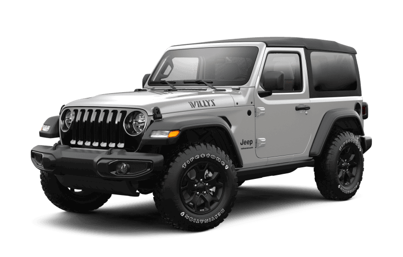 Jeep® Wrangler 2021 Willys - Gris pastenague