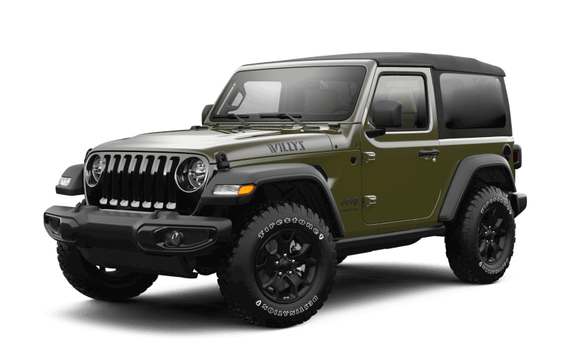 2021 Jeep® Wrangler Willys - Sarge Green