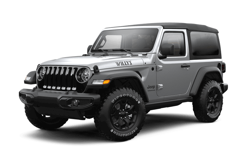 2021 Jeep® Wrangler Willys - Billet Metallic