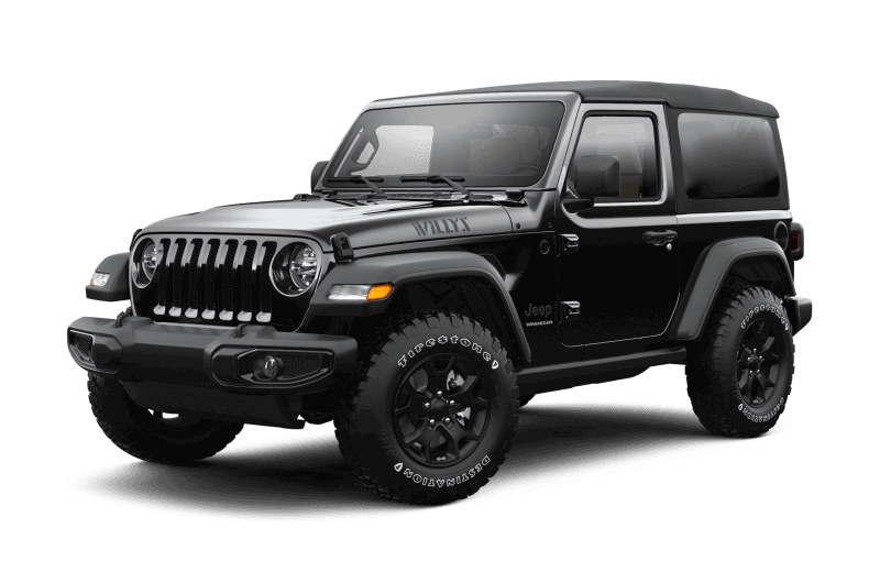 2021 Jeep® Wrangler Willys - Black