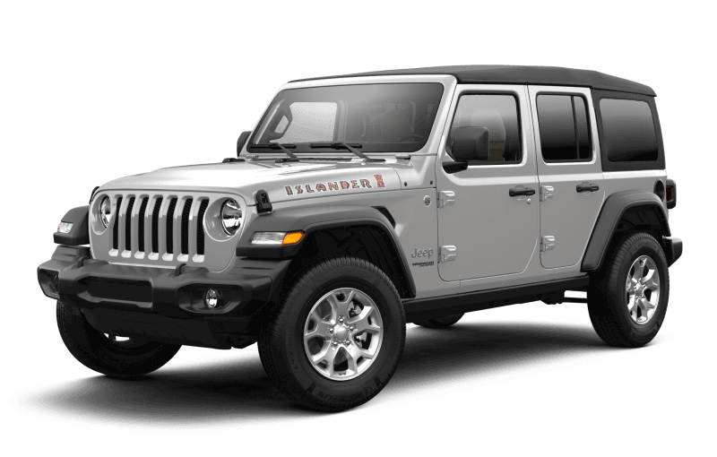 Jeep® Wrangler 2021 Unlimited Islander - Gris pastenague