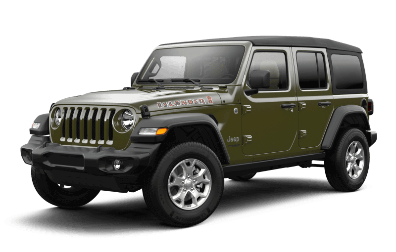 2021 Jeep® Wrangler Unlimited Islander - Sarge Green