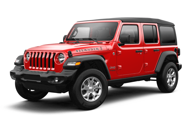 Jeep® Wrangler 2021 Unlimited Islander - Rouge pétard
