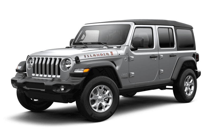 2021 Jeep® Wrangler Unlimited Islander - Billet Metallic