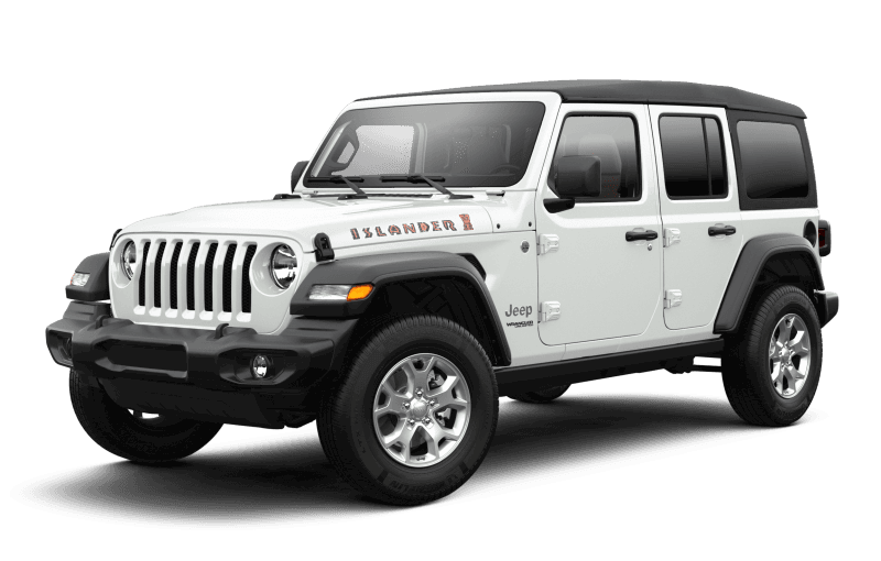 2021 Jeep® Wrangler Unlimited Islander - Bright White