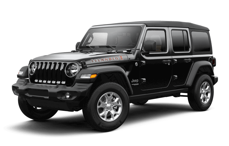 Jeep® Wrangler 2021 Unlimited Islander - Noir
