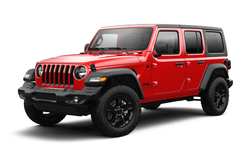 Jeep® Wrangler 2021 Unlimited Sport Altitude - Rouge pétard