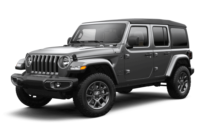 Jeep® Wrangler 2021 Unlimited Sport édition 80e anniversaire