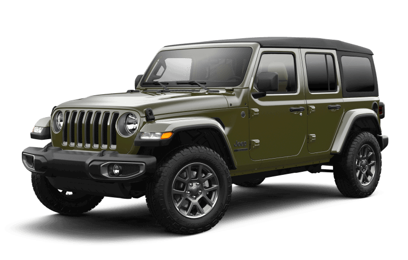 2021 Jeep® Wrangler Unlimited Sport 80th Anniversary Edition - Sarge Green