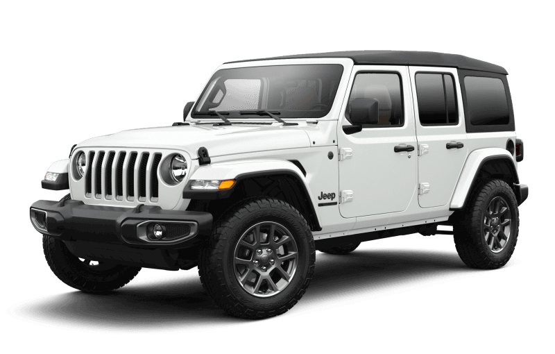 2021 Jeep® Wrangler Unlimited Sport 80th Anniversary Edition - Bright White