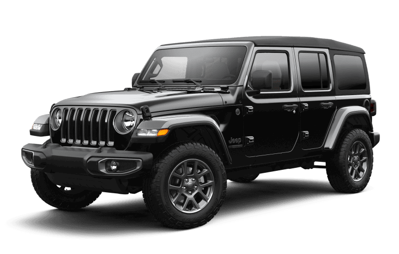 2021 Jeep® Wrangler Unlimited Sport 80th Anniversary Edition - Black