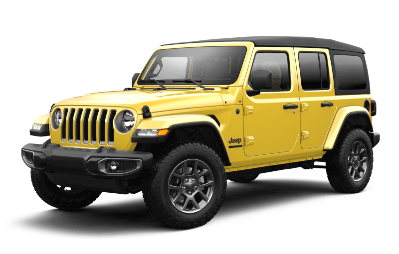 2021 Jeep® Wrangler Unlimited Sport 80th Anniversary Edition - HellaYella