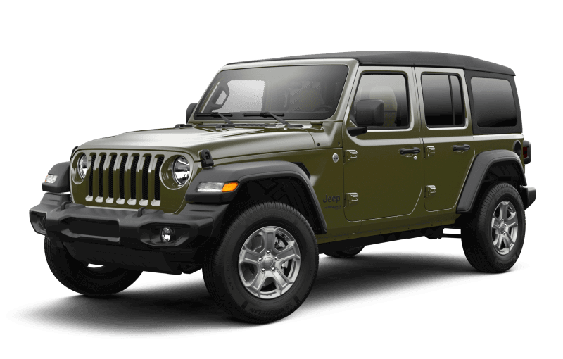 2021 Jeep® Wrangler Unlimited Sport S - Sarge Green