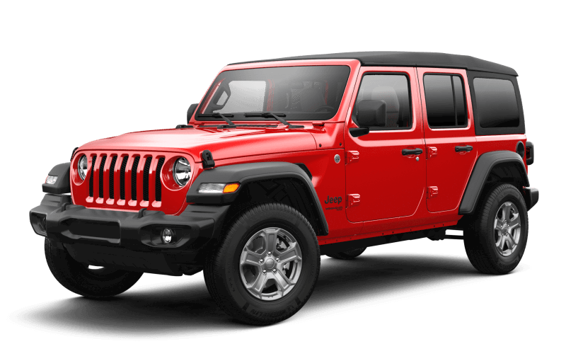 Jeep® Wrangler 2021 Unlimited Sport S - Rouge pétard