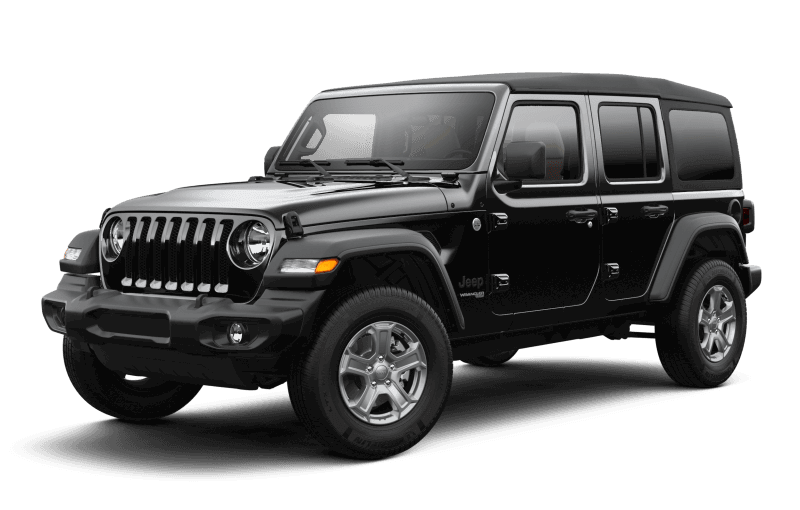 Jeep® Wrangler 2021 Unlimited Sport S - Noir