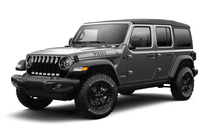 2021 Jeep® Wrangler Unlimited Willys - Granite Crystal