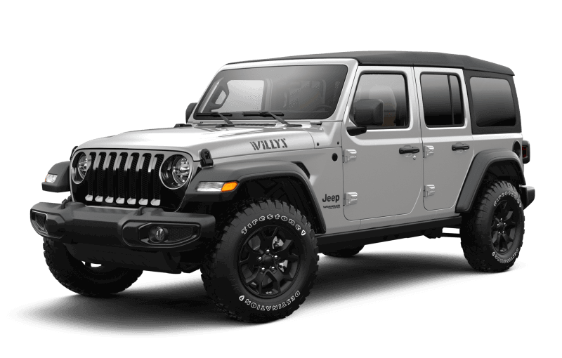 Jeep® Wrangler 2021 Unlimited Willys - Gris pastenague