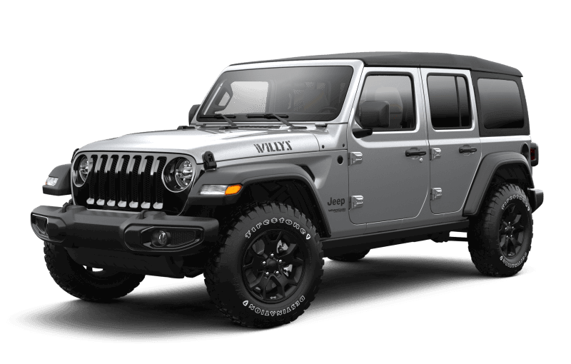 2021 Jeep® Wrangler Unlimited Willys - Billet Metallic