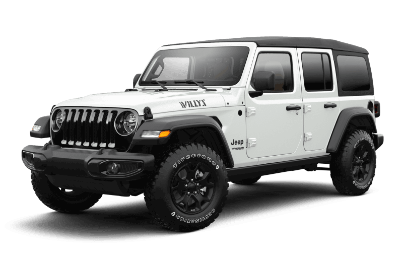 2021 Jeep® Wrangler Unlimited Willys - Bright White