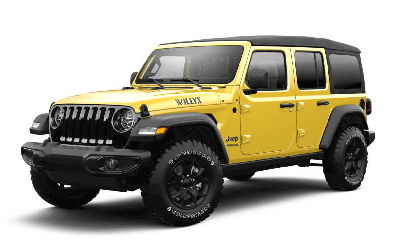 Jeep® Wrangler 2021 Unlimited Willys - HellaYella