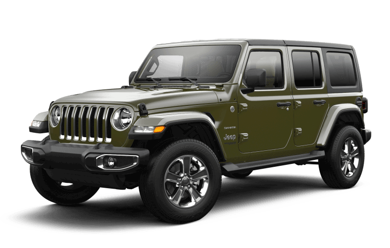 2021 Jeep® Wrangler Unlimited Sahara - Sarge Green