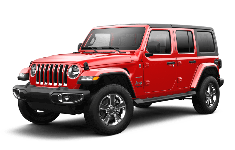 2021 Jeep® Wrangler Unlimited Sahara - Firecracker Red