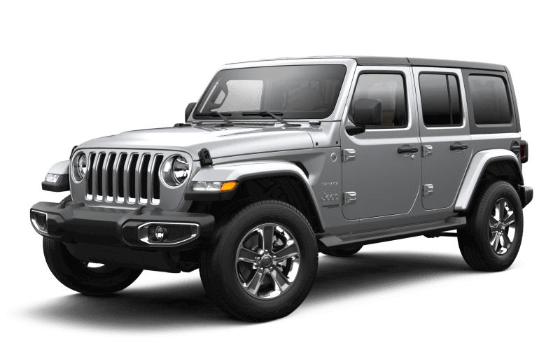 2021 Jeep® Wrangler Unlimited Sahara - Billet Metallic